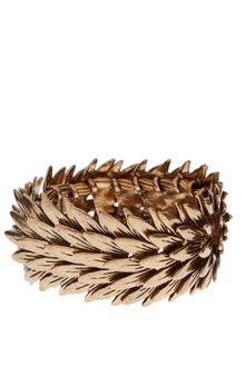 ASOS Collection Asos Spiky Leaves Stretch Bracelet - Lyst