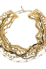 Aurelie Bidermann Clash Multi-chain Necklace
