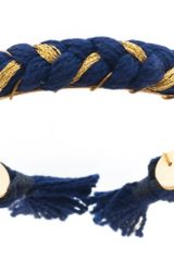 Aurelie Bidermann Do Brasil Braided Bangle