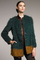 Etro Faux-fur Coat - Lyst
