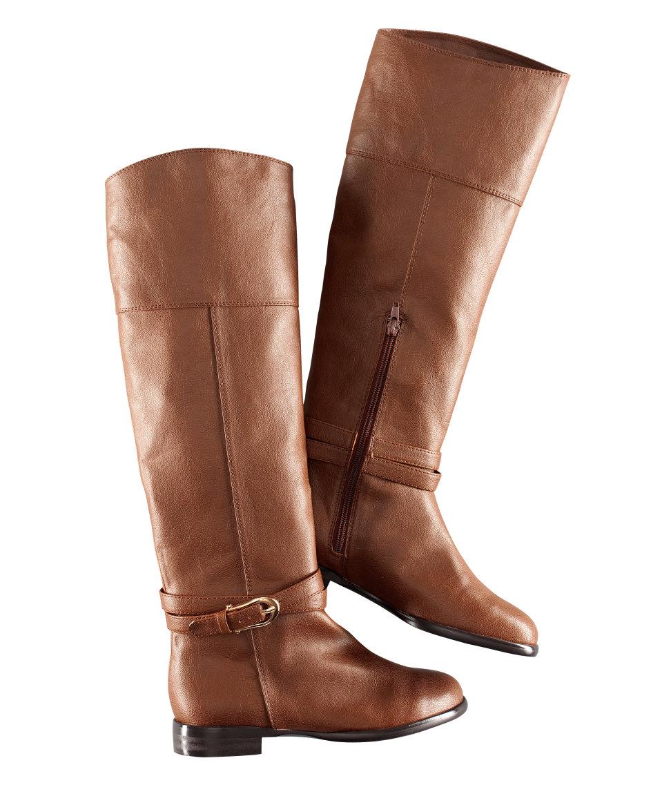 Simple Hu0026m Knee-high Boots In Black | Lyst