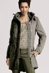 H&m Jacket in Green (khaki) - Lyst