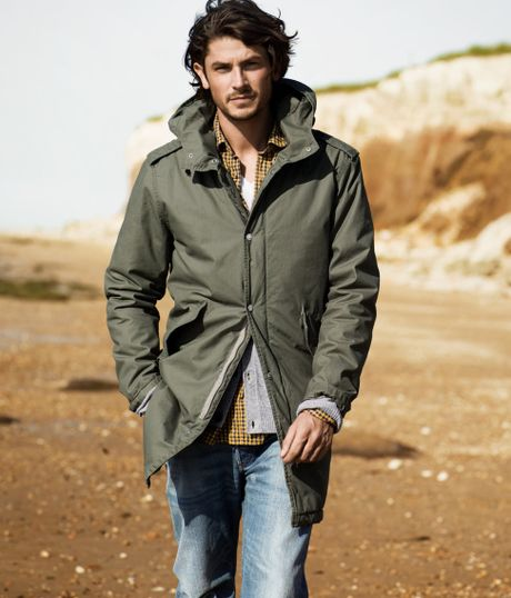 Men H&m Parka Jacket in