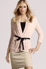H&m Cardigan in Beige (powder) - Lyst