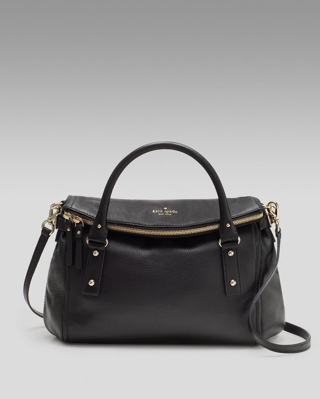 Kate spade new york Leslie Convertible Shoulder Bag in Black | Lyst