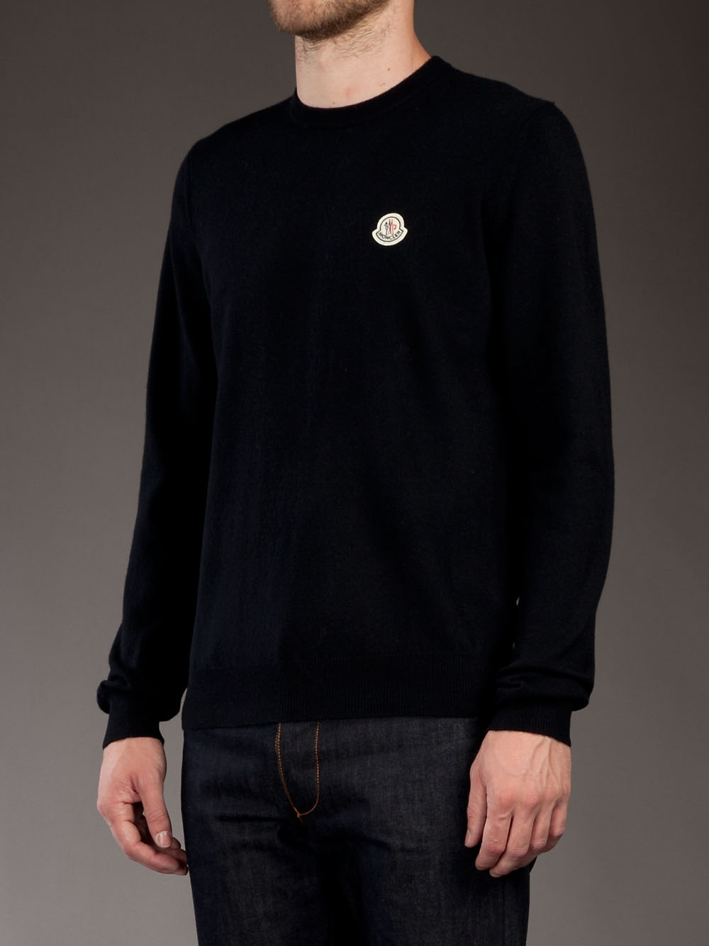 moncler blue jumper