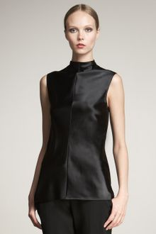 Narciso Rodriguez Mock-neck Top - Lyst