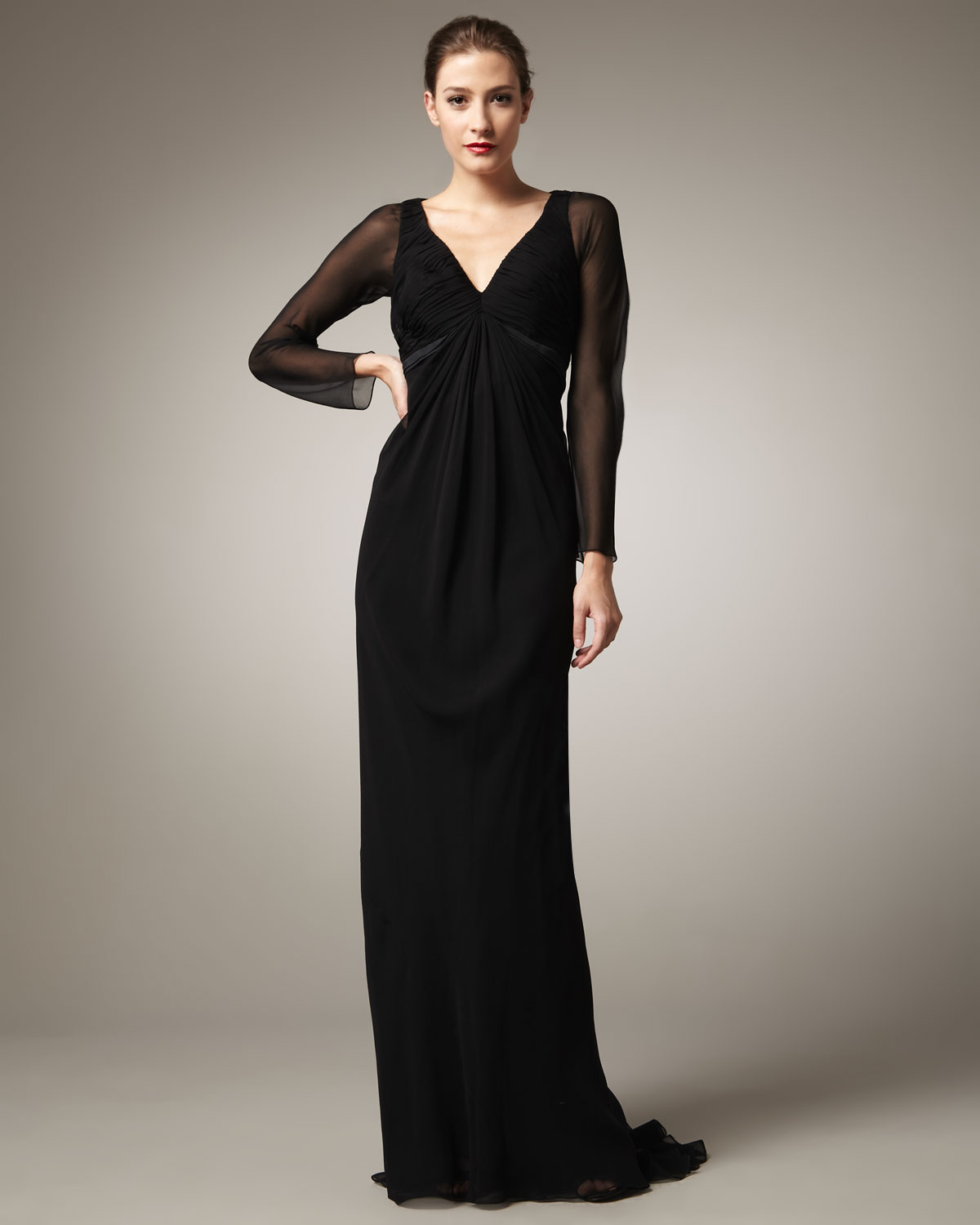 Shop affordable, unique long sleeve chiffon maxi dress designed by top fashion designers worldwide. Discover more latest collections of Dresses at loadingtag.ga