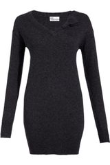RED Valentino V-neck Jumper - Lyst