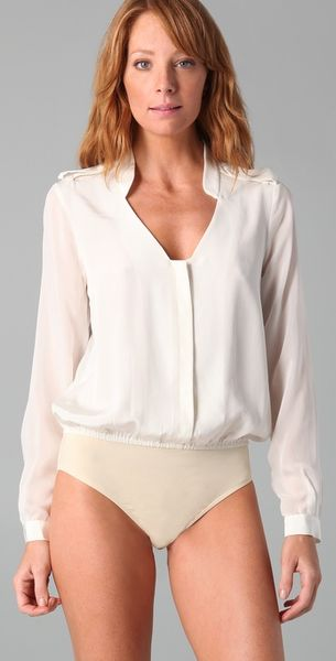 Brilliant Thread Accidental Down Blouse Can Make Your Day