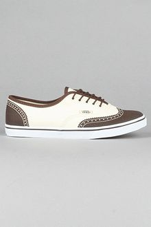 Vans The Authentic Lo Pro Sneaker in Printed Oxford Espresso - Lyst