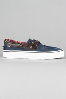 Vans The Zapato Del Barco in Navy - Lyst