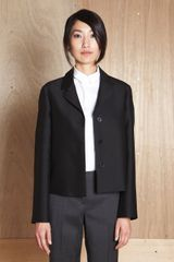 Jil Sander Womens Hepburn Jacket in Black - Lyst