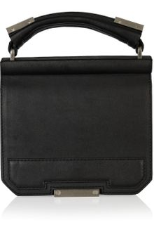 Alexander Wang Ryan Textured-leather Tote - Lyst