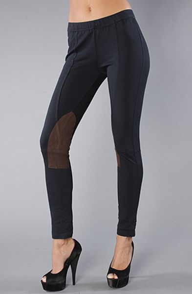 Free People The Seamed Equestrian Ponte Pull On Pants In