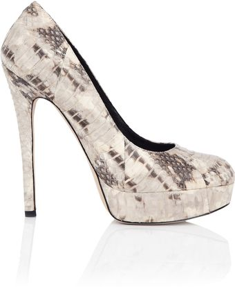 House Of Harlow Norah Snake Platform Court Shoe - Lyst