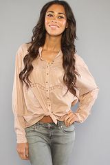 Free People The Past and Peasant Blouse