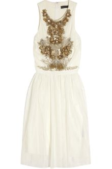 Robert Rodriguez Sequined-embellished Tulle Dress - Lyst