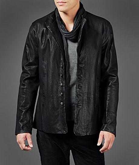 Men's Asymmetrical Jacket
