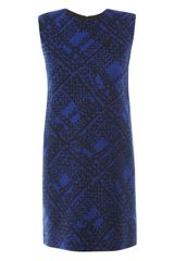 Yves Saint Laurent Virgin Wool Dress - Lyst