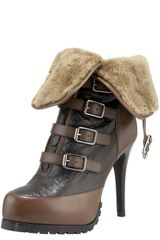 A.L.C. Buckle Boot - Lyst