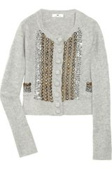 Day Birger Et Mikkelsen Prettio Angora and Wool-blend Cardigan - Lyst