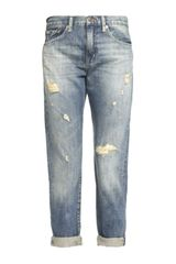 Denim & Supply Ralph Lauren Ripped Boyfriend Jeans - Lyst