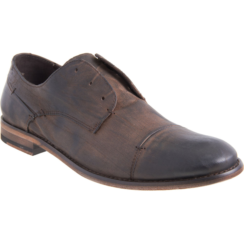 varvatos laceless blucher in brown for lyst