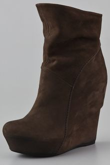 Vic Matie' Platform Wedge Booties - Lyst