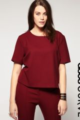ASOS Collection Asos Curve Exclusive Shell Top - Lyst
