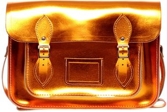 Cambridge Satchel Company 13 Metallic Satchel Exclusive To Asos - Lyst