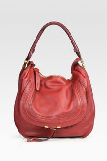 Chloé Large Marcie Hobo Bag - Lyst