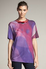 Christopher Kane Aqua-panel Tee - Lyst