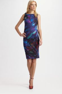 Erdem Printed Twist Dress - Lyst