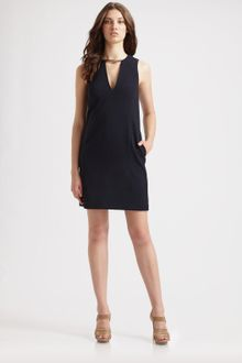 Michael by Michael Kors Crepe Hardware Dress - Lyst