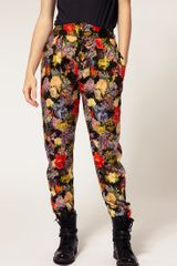 Paul By Paul Smith Trousers In Floral Tapestry Print in Multicolor (multi) - Lyst