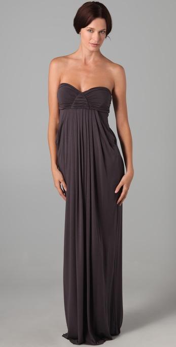 Rachel pally Long Fortuna Dress in Gray  Lyst