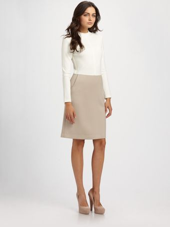 Raoul Seamed Dress - Lyst
