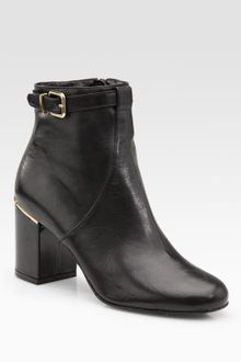 Robert Clergerie Buckle Ankle Boot - Lyst