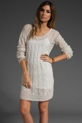 Free People Angle Cable Love Dress - Lyst