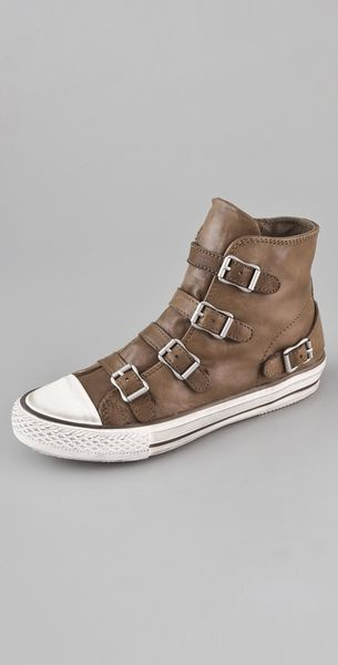 Ash Virgin 4 Buckle Sneakers - Lyst