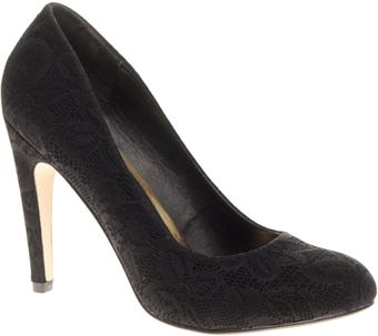 Asos Asos Scala Lace Effect Court Shoe - Lyst