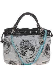 Juicy Couture Velour Beverly Tote Bag - Lyst