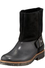 Maison Martin Margiela Shearling-lined Motorcycle Boot - Lyst