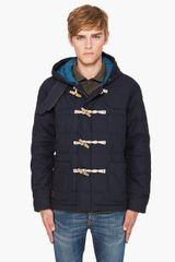 Paul Smith Quilted Toggle Coat - Lyst