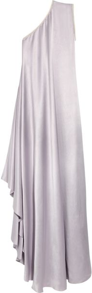 Roksanda Ilincic Sanderling Silk-satin One-shoulder Dress - Lyst