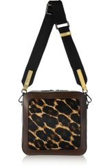 Meredith Wendell Fishbowl Calf Hair and Leather Shoulder Bag - Lyst