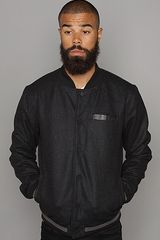 Nixon The Hammond Jacket in Black Heather - Lyst