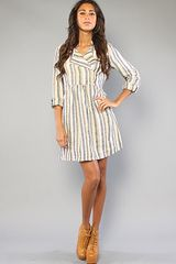 Quiksilver The Indian Summer Linen Dress - Lyst