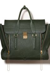 3.1 Phillip Lim Pashli Satchel in Jade